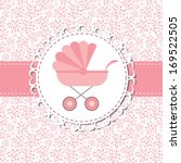 Illustration Of Pink Baby...