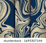 vector collection of abstract... | Shutterstock .eps vector #1695307144
