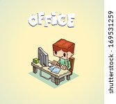 background,boss,brainstorm,business,businessman,businessperson,career,cartoon,casual,caucasian,character,cheerful,computer,concept,confidence