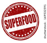 superfood grunge rubber stamp... | Shutterstock .eps vector #169532591