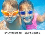 Close Up Underwater Portrait O...
