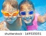 close up underwater portrait of ... | Shutterstock . vector #169535051