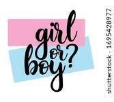 Girl Or Boy  Gender Reveal...