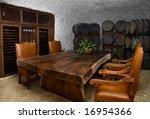 wine cellar dinning room