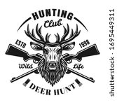 Hunting Club Vector Emblem ...