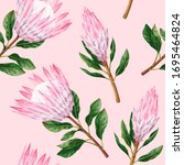 vector seamless pattern with... | Shutterstock .eps vector #1695464824