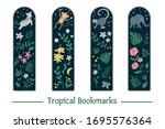 vector set of bookmarks for...   Shutterstock .eps vector #1695576364