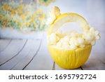 Melon Carving. Easter Basket...