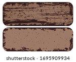 texture rusted metal ... | Shutterstock .eps vector #1695909934
