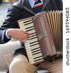 Small photo of Accordion being played accordionist