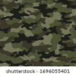 Abstract Camouflage Seamless...