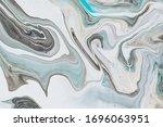 Fluid Art Background With Ligh...