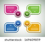vector progress background  ... | Shutterstock .eps vector #169609859
