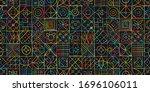 talavera pattern. indian...   Shutterstock .eps vector #1696106011