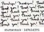 thank you message | Shutterstock . vector #169616591
