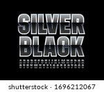 vector silver and black... | Shutterstock .eps vector #1696212067