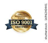 iso 9001 conformity to... | Shutterstock .eps vector #1696240441