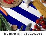 Greece Flag On Fresh Vegetables ...