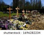 Graves At Molenbeek Cemetery In ...