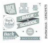 back to school | Shutterstock . vector #169629575