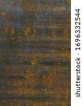 rusty worn metal texture...   Shutterstock . vector #1696332544
