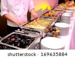 food on the luxury party | Shutterstock . vector #169635884