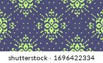 christmas drawing with...   Shutterstock .eps vector #1696422334