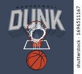 Basket Ball Sport Typography ...