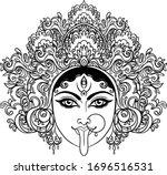 portrait of indian hindi... | Shutterstock .eps vector #1696516531