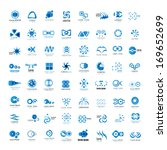 business icons set   isolated... | Shutterstock .eps vector #169652699