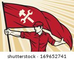 a,and,builder,building,communism,communist,construction,contractor,craftsmen,crossed,day,engineer,factory,fight,flag