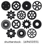 machine gear collection ... | Shutterstock .eps vector #169653551