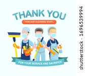 appreciation for hospital... | Shutterstock .eps vector #1696539994