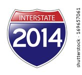 a whimsical interstate 2014... | Shutterstock .eps vector #169657061