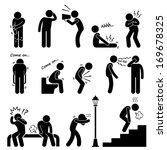 human disease illness sickness...   Shutterstock .eps vector #169678325