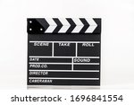 movie clappers open and close... | Shutterstock . vector #1696841554