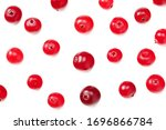 Cranberry Isolated On White...