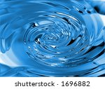 water texture - stock photo