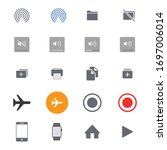ui kit  device elements...
