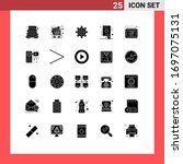 pack of 25 creative solid...