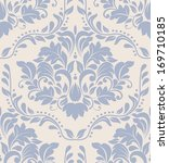 vector damask seamless pattern... | Shutterstock .eps vector #169710185