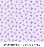 seamless vector pattern in pale ... | Shutterstock .eps vector #1697117767