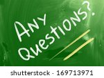 any questions concept | Shutterstock . vector #169713971