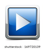 play button | Shutterstock .eps vector #169720139