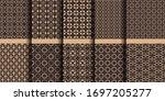 luxury islamic seamless... | Shutterstock .eps vector #1697205277