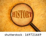 history  | Shutterstock . vector #169721669