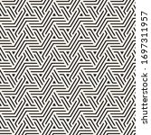 vector seamless stylish pattern.... | Shutterstock .eps vector #1697311957