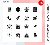 solid glyph pack of 16...