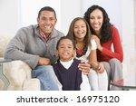 family portrait at christmas | Shutterstock . vector #16975120