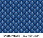 classic leaves art deco...   Shutterstock .eps vector #1697590834